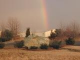 Rainbow Beyond the Shed