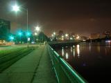 Night on Memorial Drive