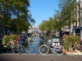 Bicycles on a Bridge