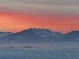 Soft Pink Sunset